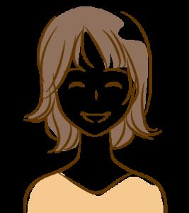 20代女性笑顔