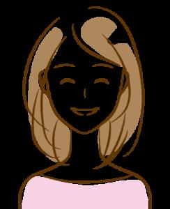 30代女性笑顔