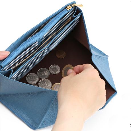 使いやすいギャルソン長財布「傳濱野(でんはまの)ギャルソン長財布sofille(ソフィーユ)